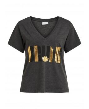 T-shirt VINILLAS FOIL de VILA.