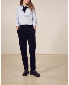 Pantalon velours JULES (noir) de LABDIP.